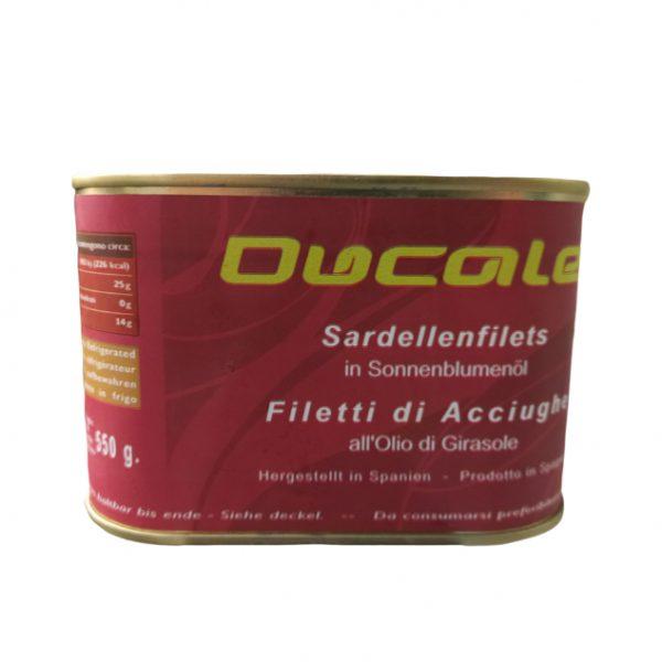 cá ngâm dầu anchovy