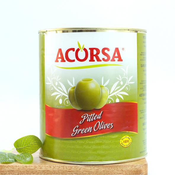 trái oliu xanh không hạt