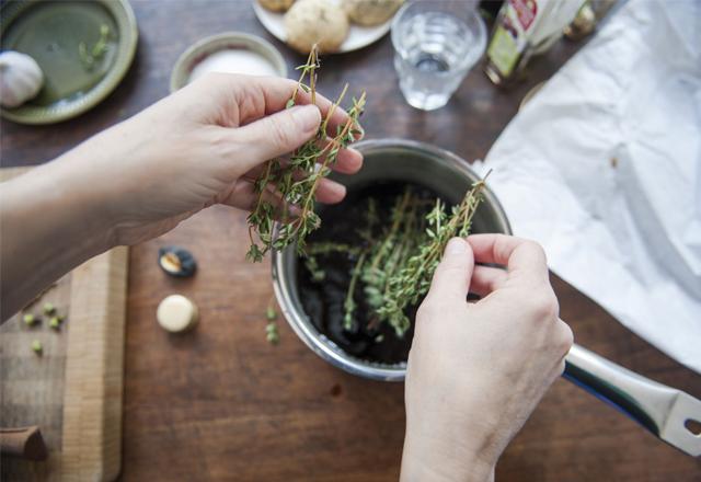 Cách sử dụng thyme trong nấu ăn