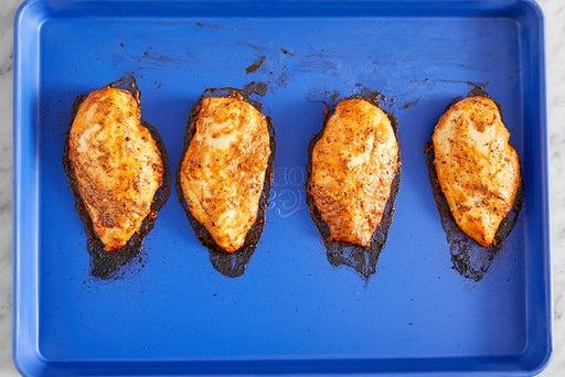 Nướng thịt gà